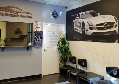 Auto Mechanic Services Shop